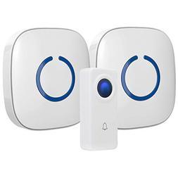 CROSSPOINT Expandable Wireless Multi-Unit Long Range Doorbel