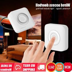 DC 12V Wired Doorbell Door Bell Chime For Home Office Access