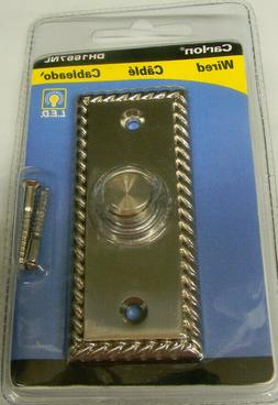 THOMAS & BETTS DH1667NL WIRED PUSH BUTTON DOOR CHIME SOLID B