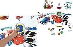 DISNEY CARS RINGADING DOORBELL VINYL STICK A STORY VINYLS RO