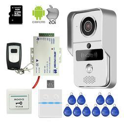 DIY Wifi IP RFID Doorbell Camera Video Intercom for Android