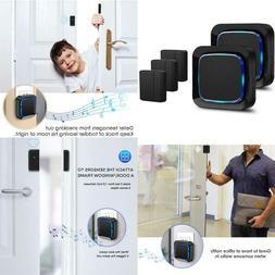 Door Sensor Wireless Alarm Chime Kit For Home/Office/Store,