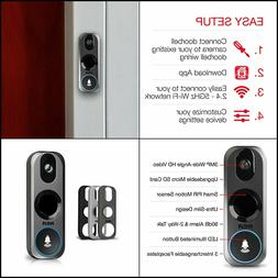 RCA Video Doorbell Security Camera New and Improved - with M