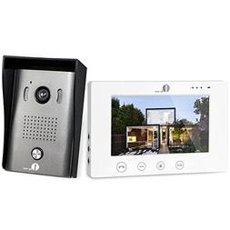 1byone Video Doorphone 2-Wires Video Intercom System with 7-