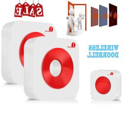 1Byone Easy Chime Wireless Doorbell Kit 36 Chimes Home Secur