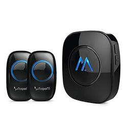 Magicfly Expandable Wireless Doorbell Chime Kit 1000-feet Ra