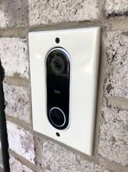 FLUSH MOUNTABLE Nest Hello Doorbell adapter plate intercom s