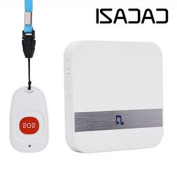 <font><b>CACAZI</b></font> C1 Wireless Medical Call Button S