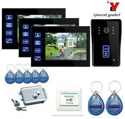 Yobang Security Freeship Hands Free Monitor Intercom <font><
