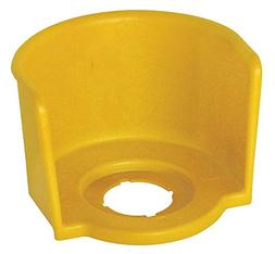 Eaton Guard Ring for E-Stop, Yellow, Polyester, Size: 22mm -