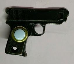 Gun Handgun Doorbell Button Solid Brass Door Bell Oil Rubbed