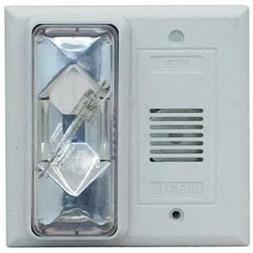 Hard Wired 24VAC Doorbell ADA Loud Horn Flashing Strobe for