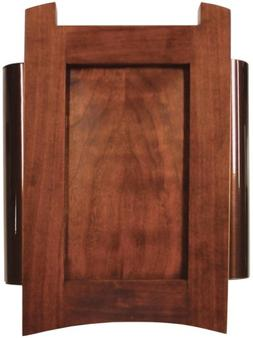 Heath Zenith 56 Wired Door Chime, Cherry with Rubbed Bronze