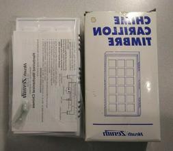 Heath Zenith 95B-B Wired Door Chime, White