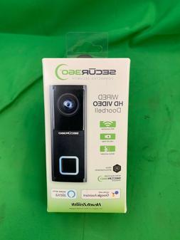 Heath Zenith Secur360 Wired HD Video Doorbell