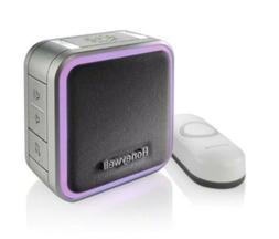 Honeywell Home Maison Portable Wireless Doorbell & Push Butt