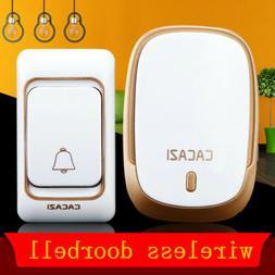 CACAZI Home Security Wireless Doorbell Electronic Smart Door