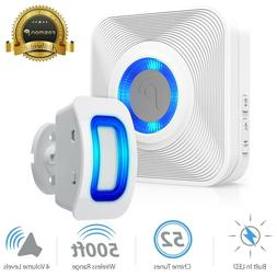 Home Security Wireless Driveway Alarm Doorbell Outdoor Motio