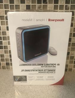 Honeywell Home Series 9 Portable Wireless Doorbell And Push