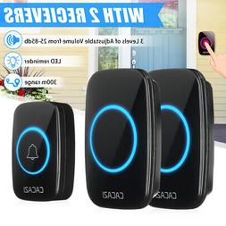 Home Wireless Doorbell Remote 300M Distance Waterproof 1 tra