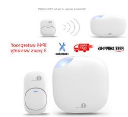 1byone Home Wireless Doorbell Waterproof Remote 300M Range U