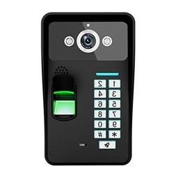 Alloet Home Wireless Doorbell WiFi Remote Video Camera Visua