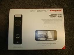 Honeywell SkyBell Slim 1080p Wi-Fi Video Doorbell Bronze-fre