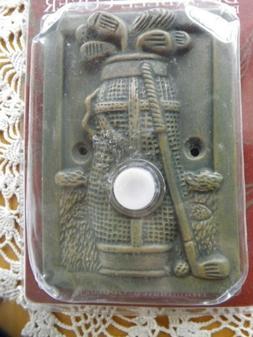 """""""Golf"""" Illuminated Ceramic Doorbell Cover by Figi"""