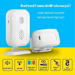 Infrared Motion Sensor Detection Chime Radio Distance Reach