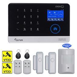 JC Wireless 2G & WIFI Security Alarm System, RFID Burglar Se