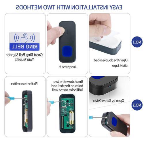 1000FT Resistant Wireless Doorbell
