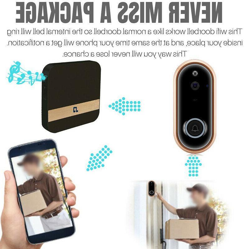 1080P Doorbell Camera Chime Video
