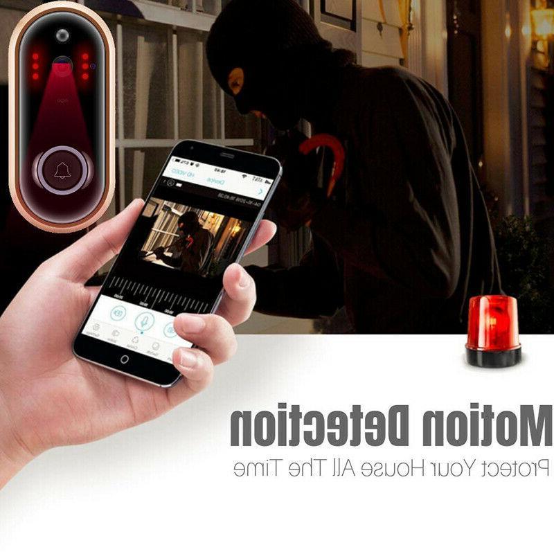 1080P HD Doorbell Camera Video Intercom Security Tools