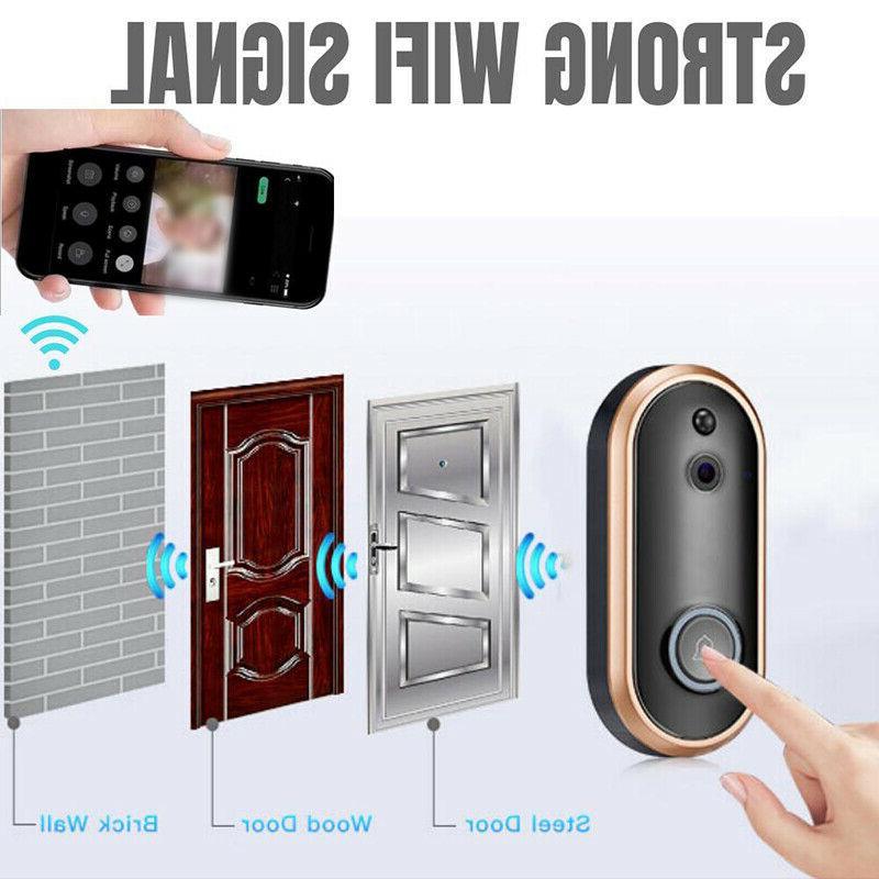 1080P Smart Doorbell Video