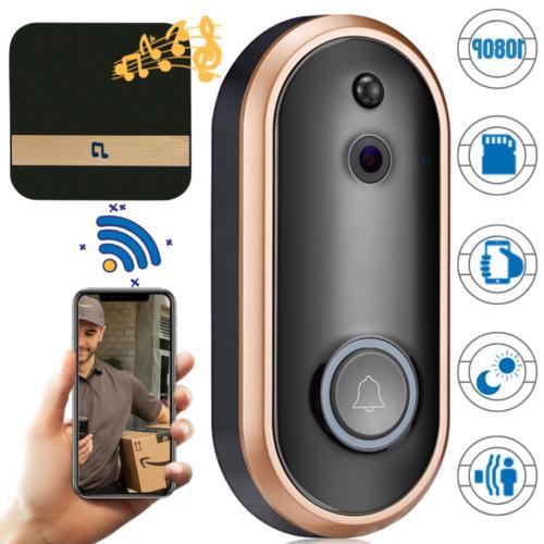 1080p hd wifi smart doorbell camera wireless
