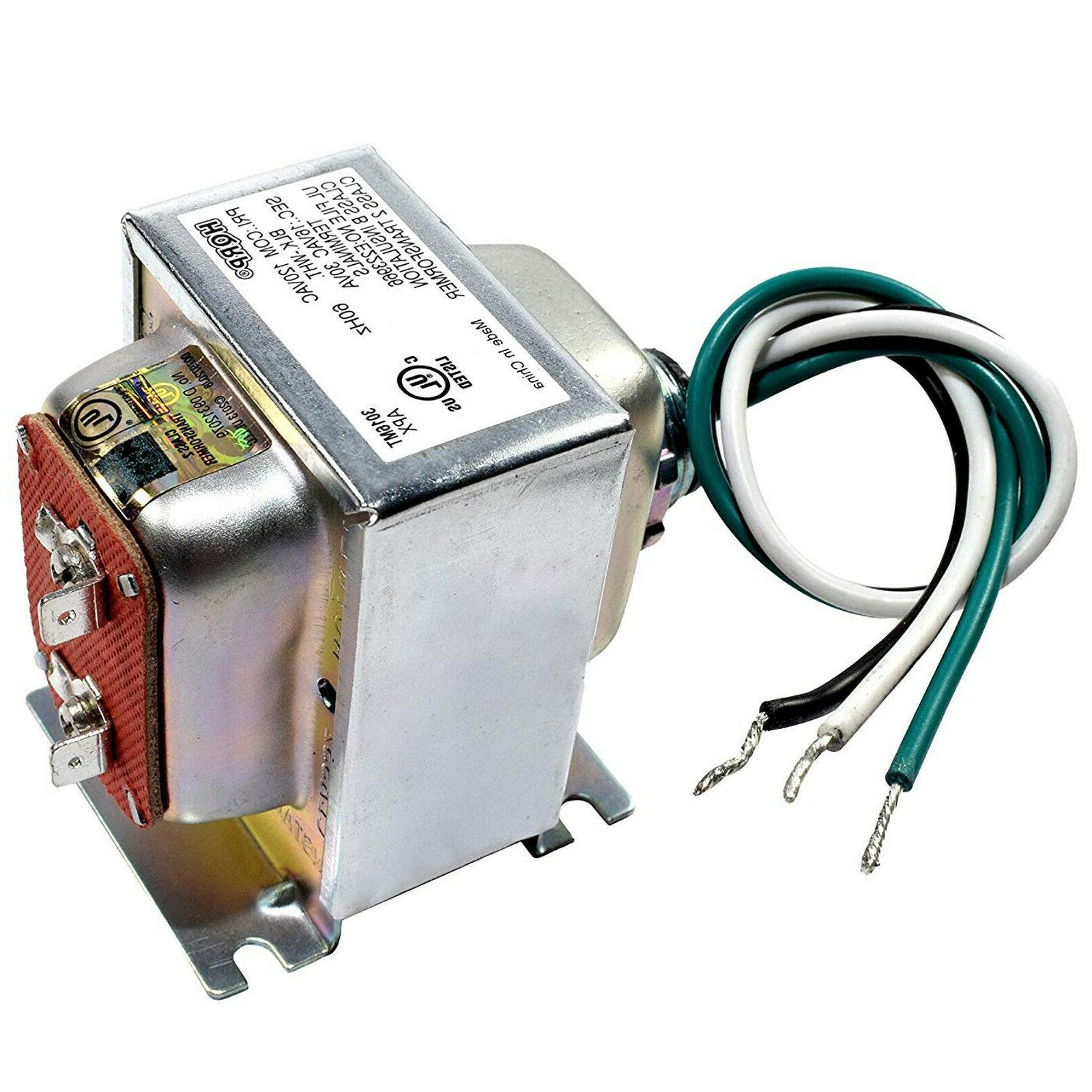 120v 16v 30va transformer for powering multiple