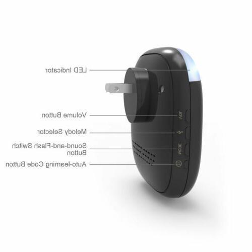 1Byone 150M Chimes Wireless Plug-in Receiver Waterproof