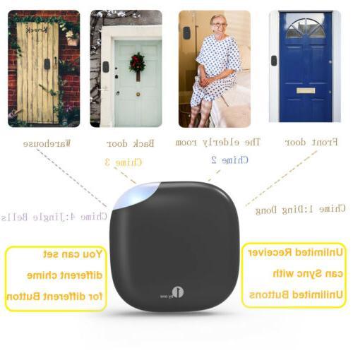1Byone 150M LED Chimes Doorbell Plug-in Waterproof