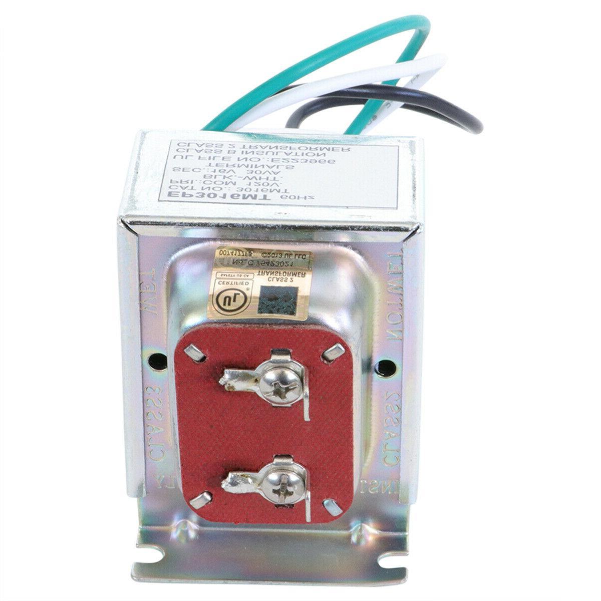 Doorbell Transformer with Ring, Nest