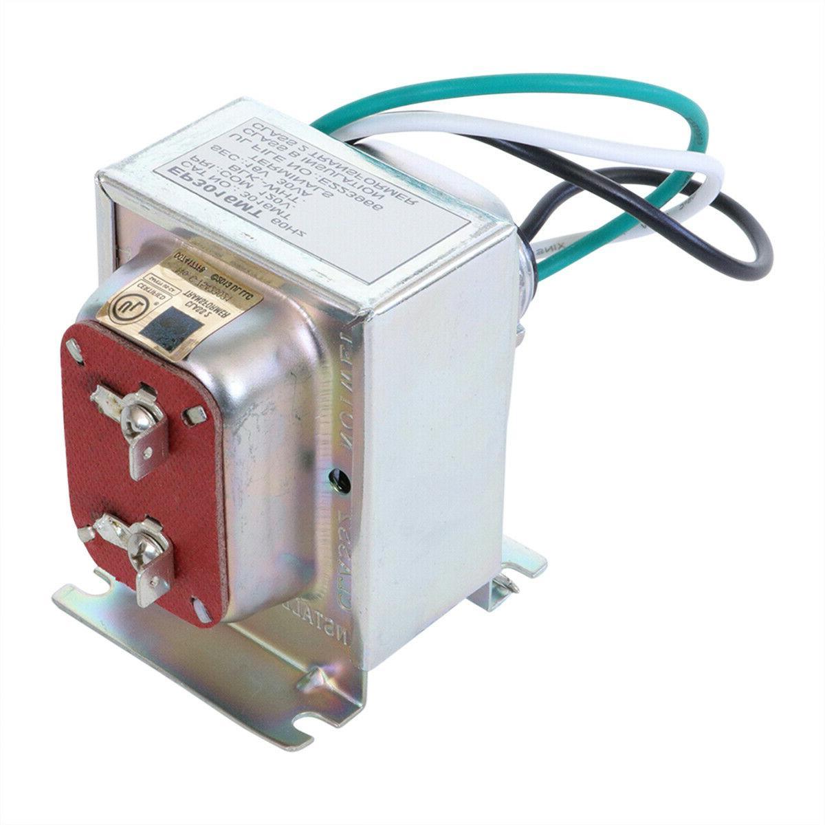 16v 30va doorbell transformer compatible with ring