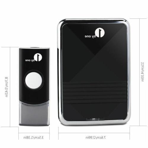 1byone wireless chime 150m range