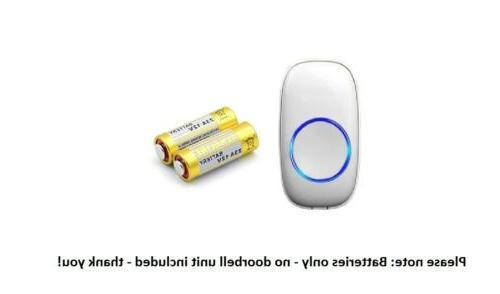 2 battery for wireless doorbell button a23