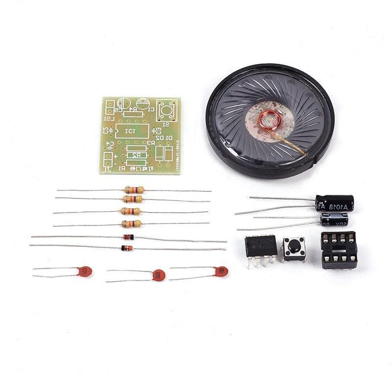 2 DIY Electronic <font><b>Doorbell</b></font> Precise Electronic Sound