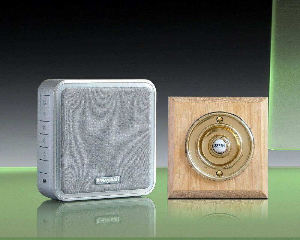 Honeywell 200m Doorbell kit, Push, DC917WNBs