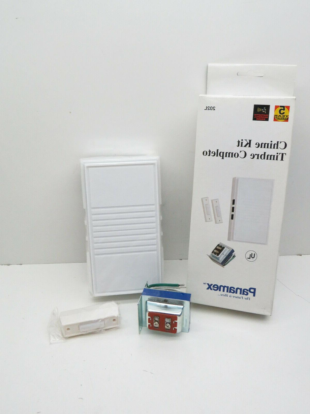Panamex 202L Wired Door Kit 2x Button