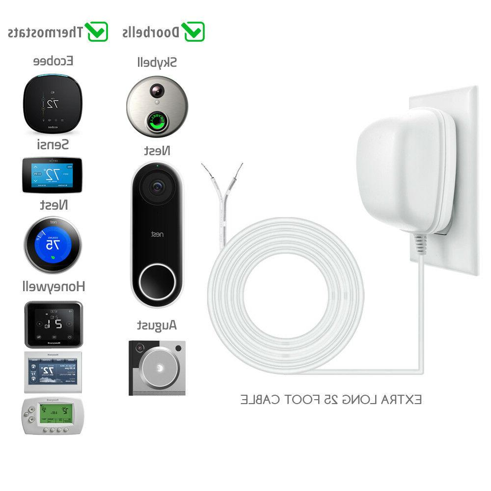 24 C-Wire Power Smart Thermostats and