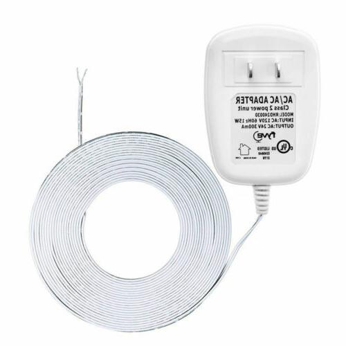 24 volt transformer c wire power adapter