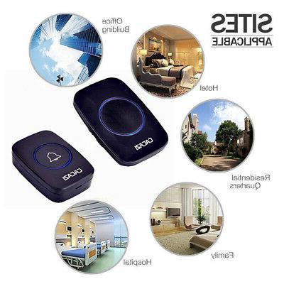 Wireless Doorbell Songs Chime Plug Room