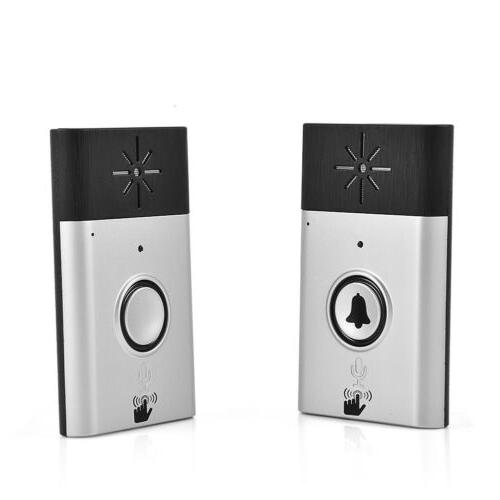 300m Wireless Voice Intercom Doorbells Two-way Home Doorbell Interphone