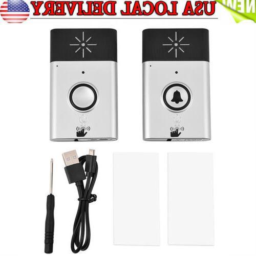 300m wireless voice intercom doorbells two way